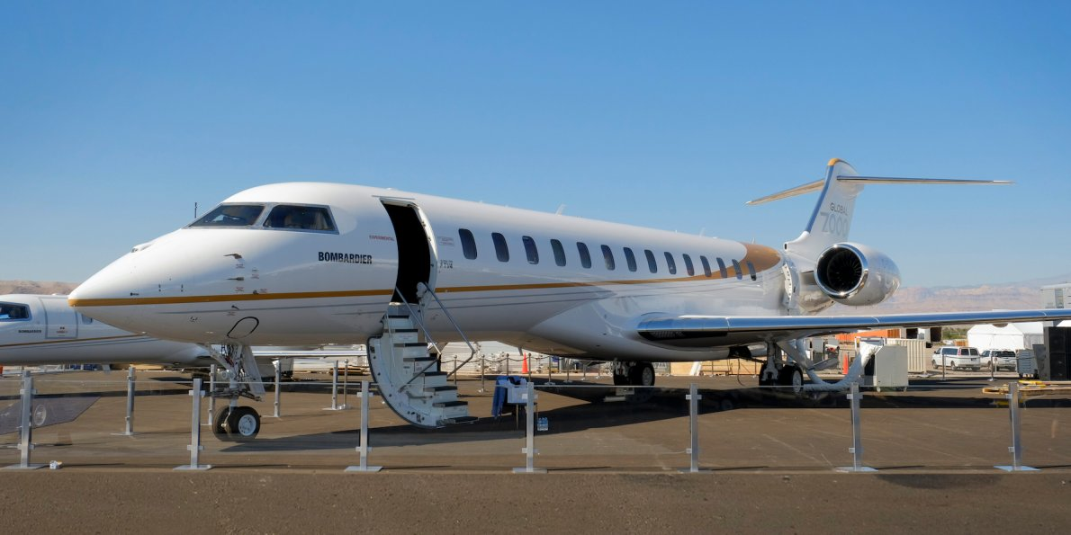 Bombardier debuts Global 7000 private jet: Photos, details