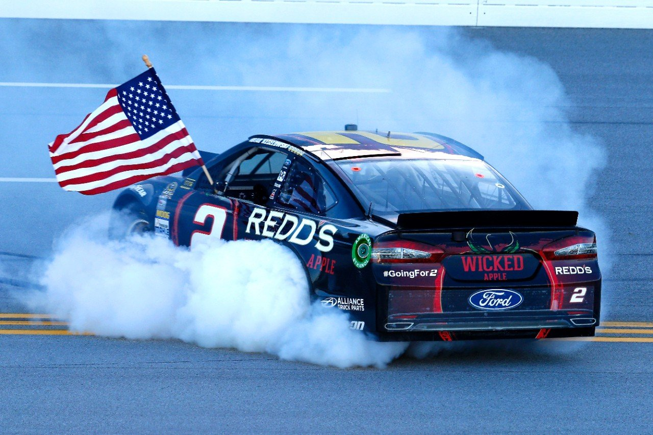 Ford NASCAR Burnout