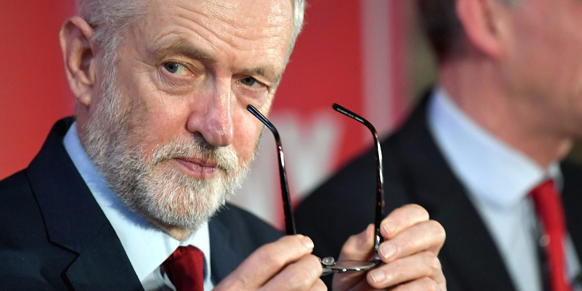 jeremy corbyn labour glasses eyes