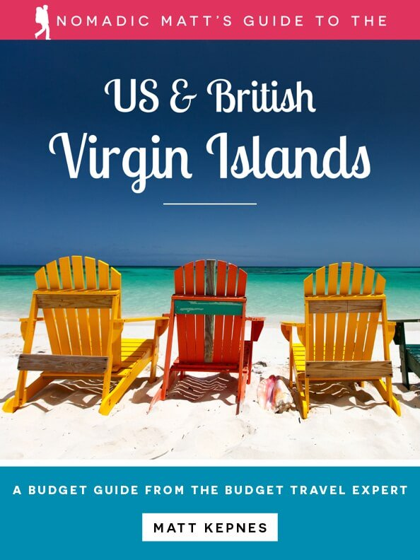 nomadic matt virgin islands guidebook cover