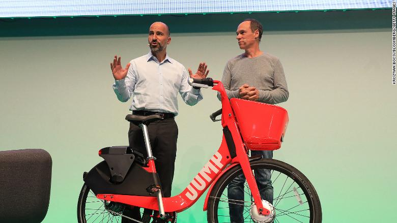 Uber electric bikes 0827 RESTRICTED