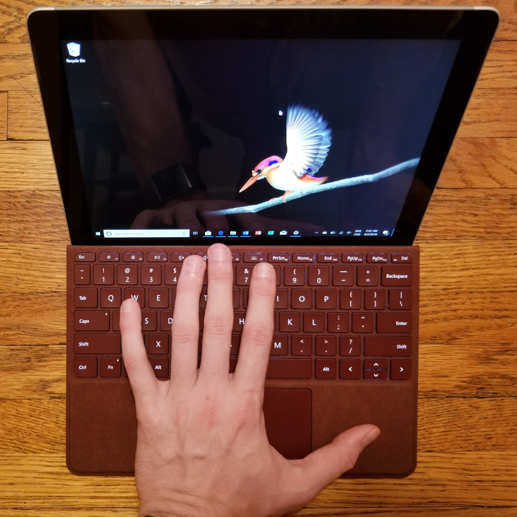 Surface Go review: Wonderful weight, superb software, poor