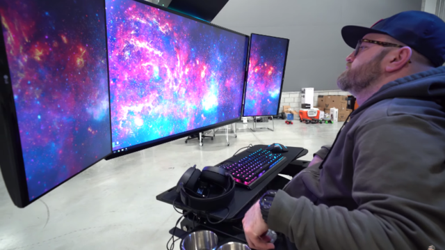 This $30,000 rig is the craziest gaming setup we've ever