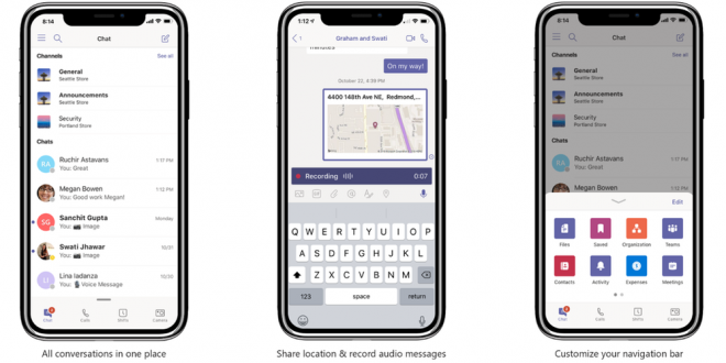 Microsoft Teams gets location sharing, smart camera, and