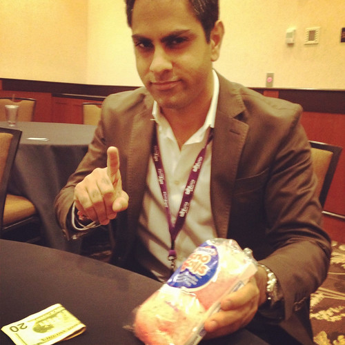 Ramit scolding me about my snack choices