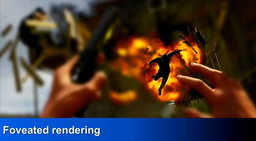 PlayStation VR: Foveated rendering