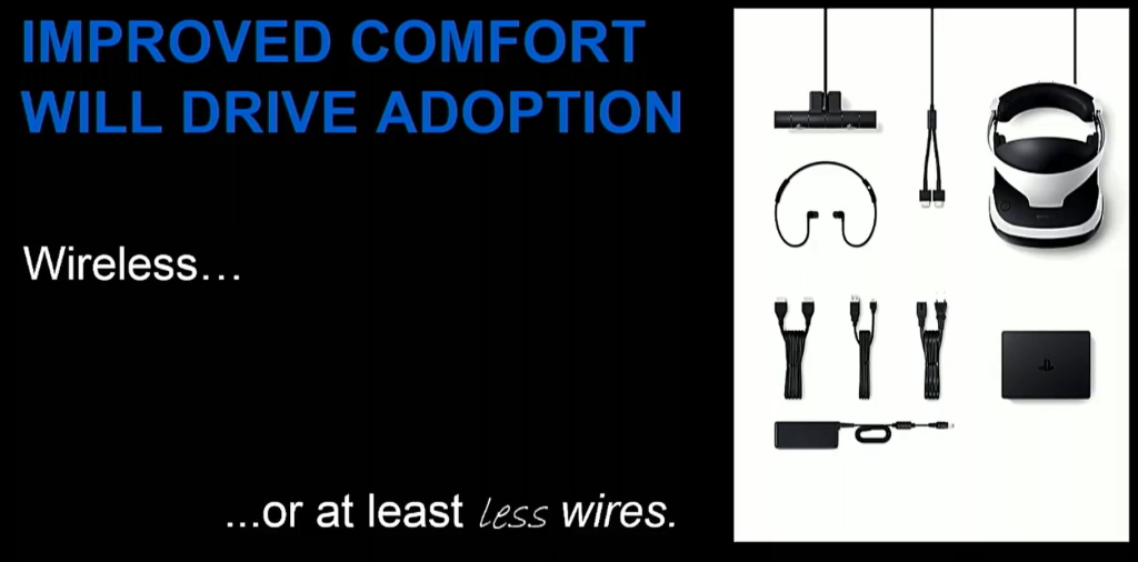 VR needs less wires