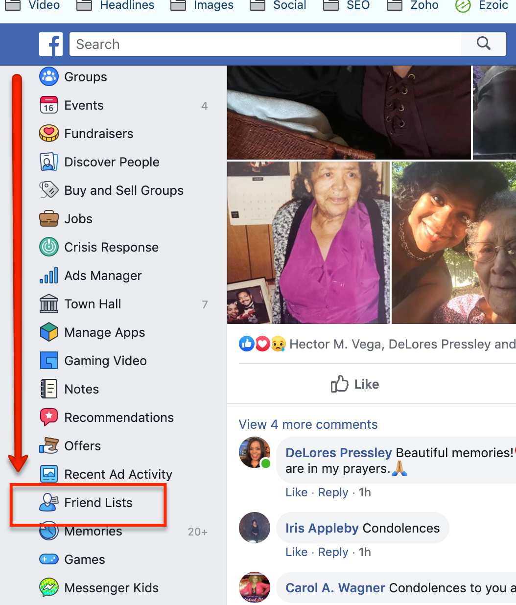 Create Facebook Friend List to Learn About Your Ideal