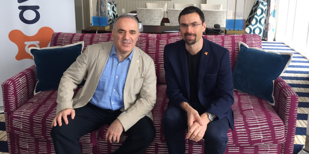 Kasparov and Vlcek