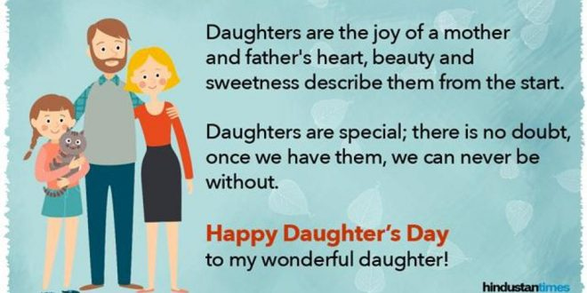 Happy Daughters Day 2019 Best Wishes Quotes Messages