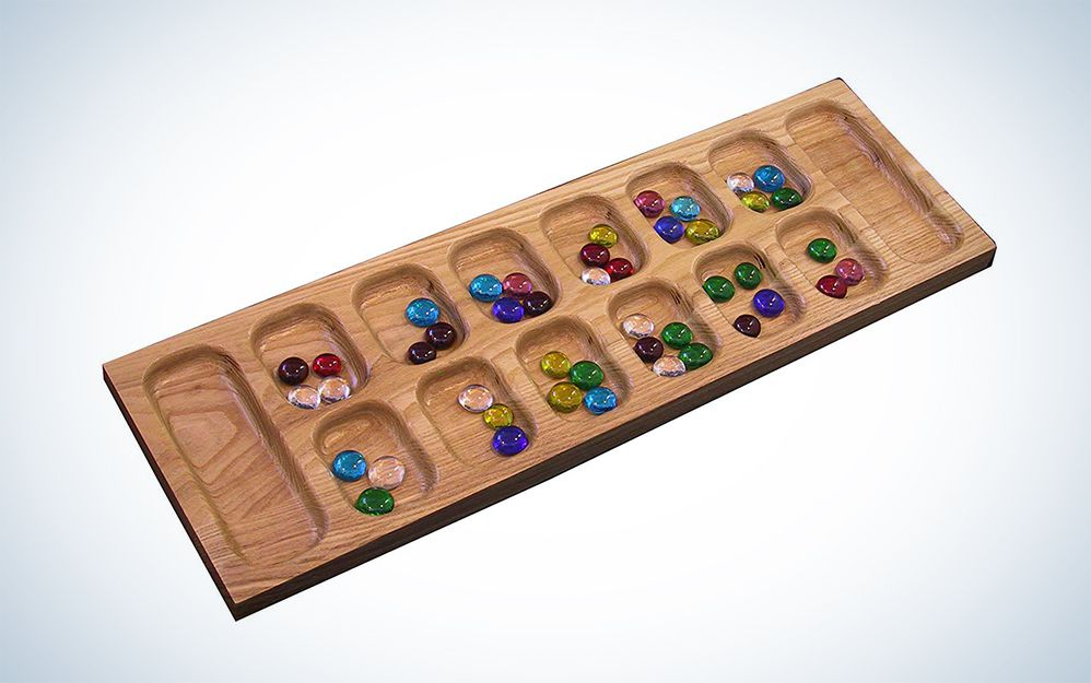 A marble counting game with ancient origins.