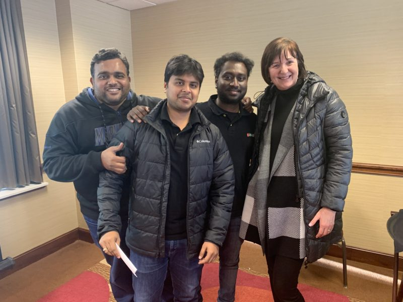 Zoho Community team in Cleveland
